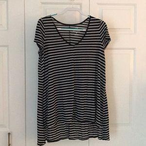 High Low Long Short Sleeve Shirt